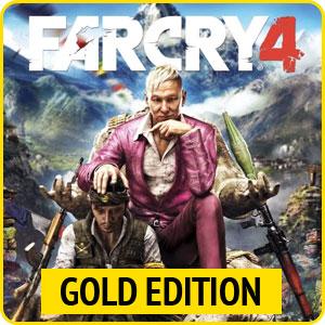 Скидка 58% на игру Far Cry 4 Gold Edition