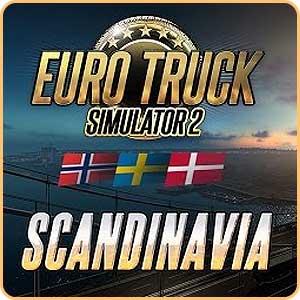 Скидка 51% на игру Euro Truck Simulator 2 Scandinavia (DLC)