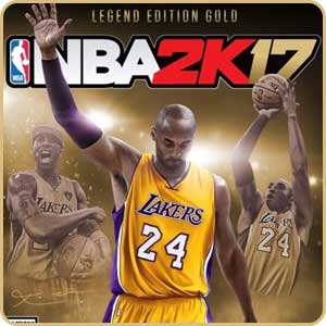 Скидка 40% на игру NBA 2K17 Legend Edition Gold