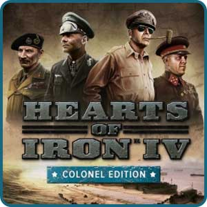 Скидка 23% на игру Hearts of Iron 4 Colonel Edition