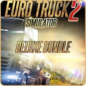 Скидки 36% на покупку игры Euro Truck Simulator 2 Deluxe Bundle