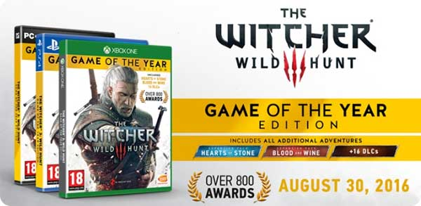 Купить Witcher 3 GOTY edition